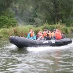 Bootsfahren