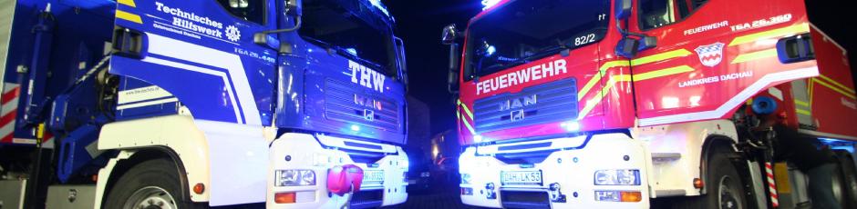 THW-Feuerwehr